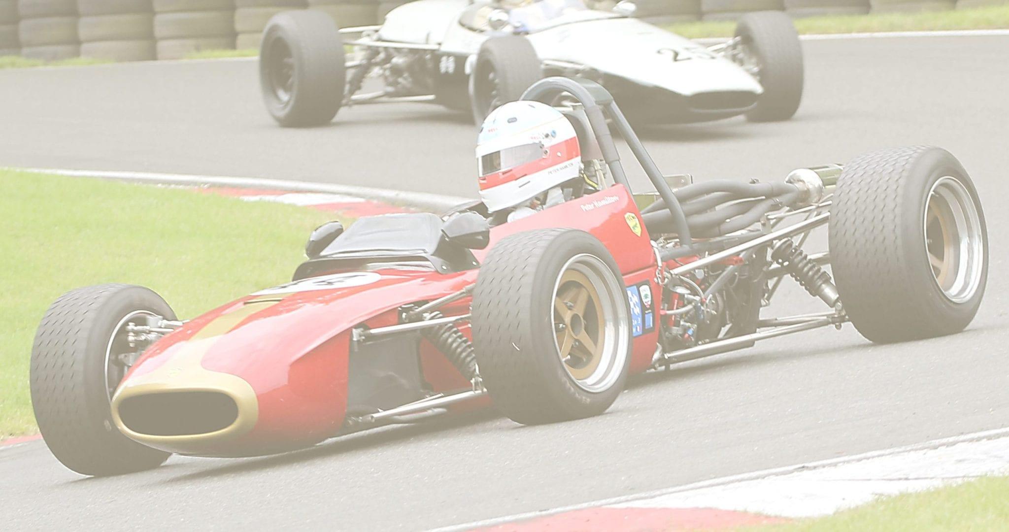 Peter Hamilton race driver